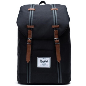Herschel Retreat Selkäreppu 19,5l, black/black/tan